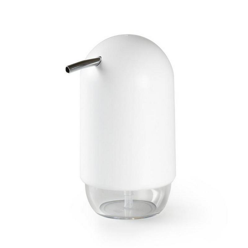 distributeur de savon  umbra touch blanc