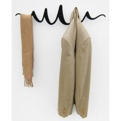 Porte manteau acier noir original scribble headsprung