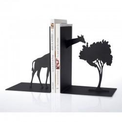 Serre-livres décoratif noir girafe la chaise longue